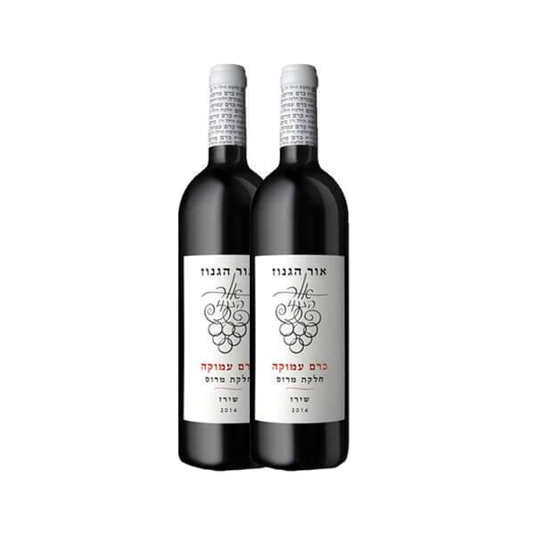 2 יינות אור הגנוז כרם עמוקה
