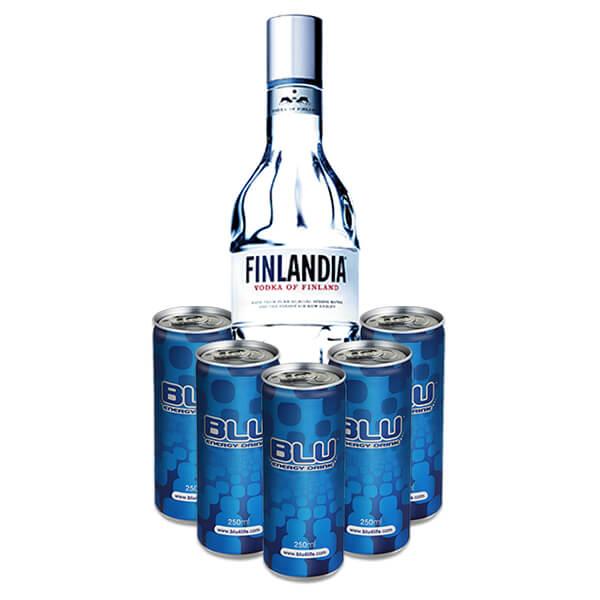פינלנדיה ליטר + 5 בלו