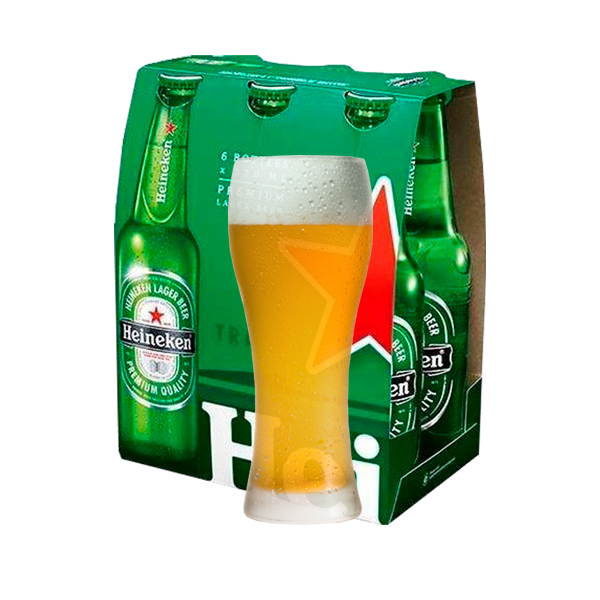 שישיית בירה + כוס